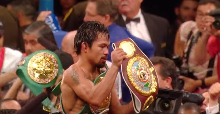 Eddie Hearn Interested In Manny Pacquaio